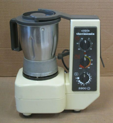 Vorwerk Thermomix TM3300 Heated Mixer Blender Chopper 1.5L 1450W